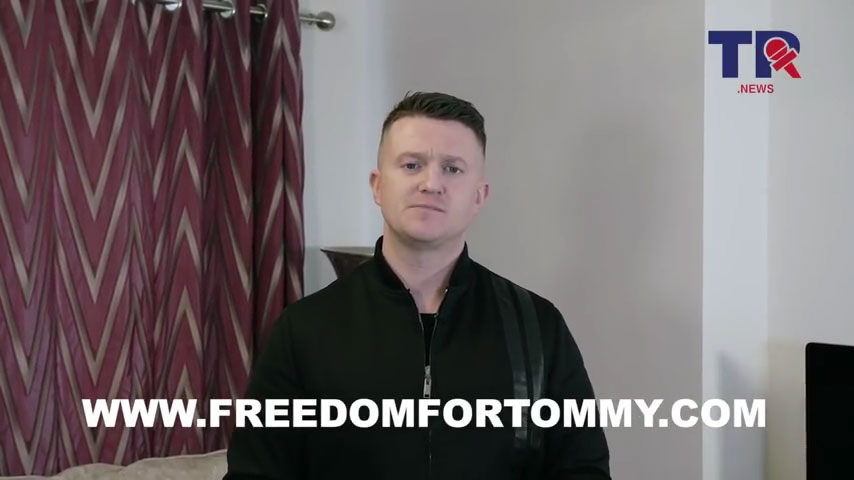 Tommy Robinson Back in Jail