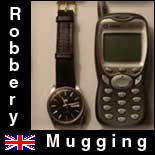 Robbery in the UK